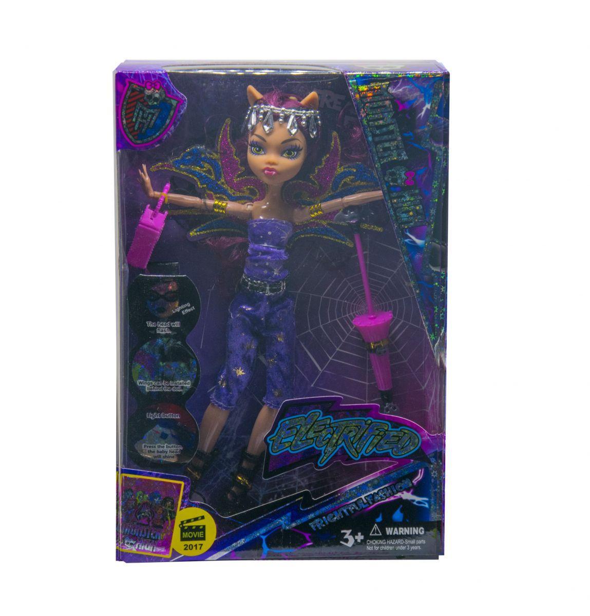 Кукла с подсветкой Monster High Клодин Вульф
