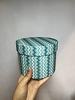 Коробка одиночка  маленькая низкая с крышкой