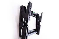 🔝 Кронштейн для телевизора / монитора (14-42 дюймов) крепление vesa, крепеж на стену тв с доставкой | 🎁%🚚