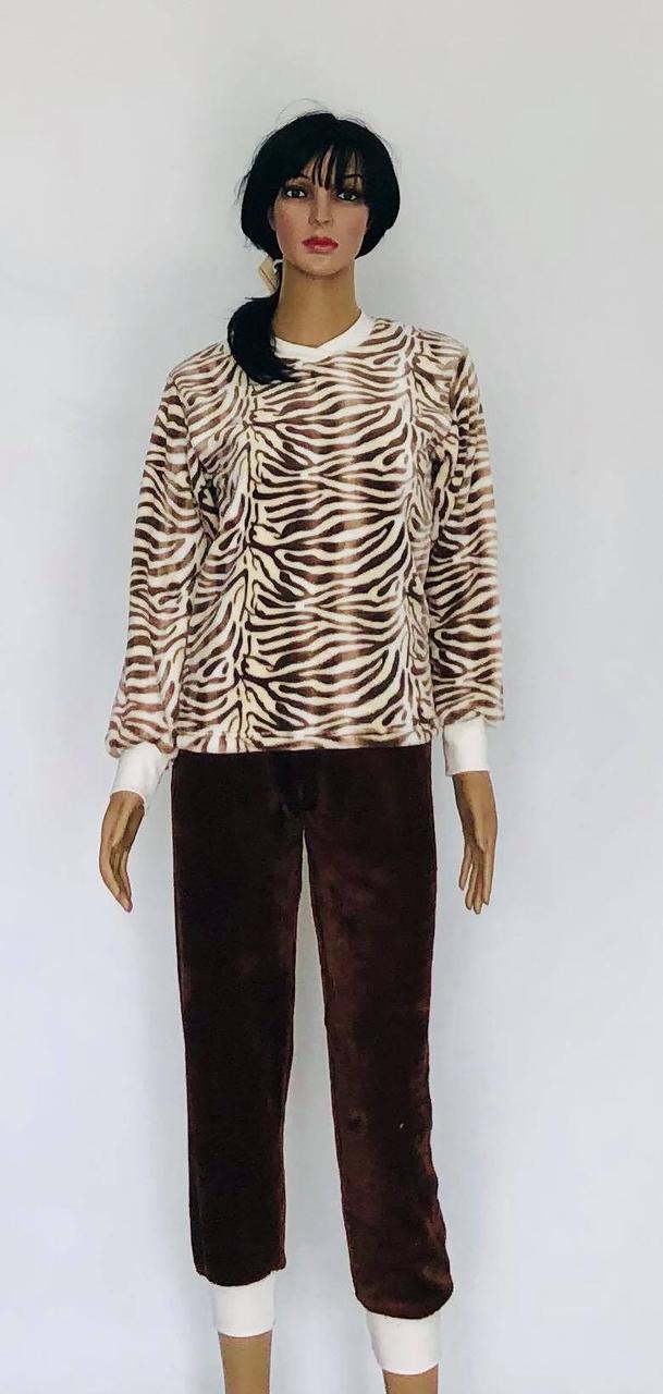 Пижама махровая подростковая