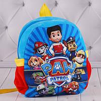 """Детский рюкзак """"Щенячий Патруль"""", """"PAW Patrol"""", плюшевые рюкзачок, мягкий рюкзак в садик"""
