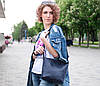 Шоппер Диамант Кожа Итальянский краст цвет Коричневый, фото 5