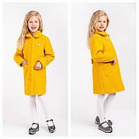 Демисезонное пальто для девочки Mirabella Размеры 116- 134 Осень 2019