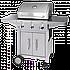 Немецкий Газовый гриль из стали Profi Cook(Оригинал) 3 комфорки, фото 2