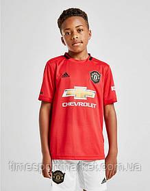Детская Футбольная форма Манчестер Юнайтед  2019-2020  (Реплика)