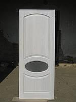Двери межкомнатные из ясеня (овал)