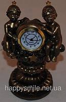 """Часы, статуэтка знак зодиака """"Близнецы"""""""