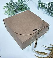 Коробка маленькая квадратная 115х115х50 мм крафт