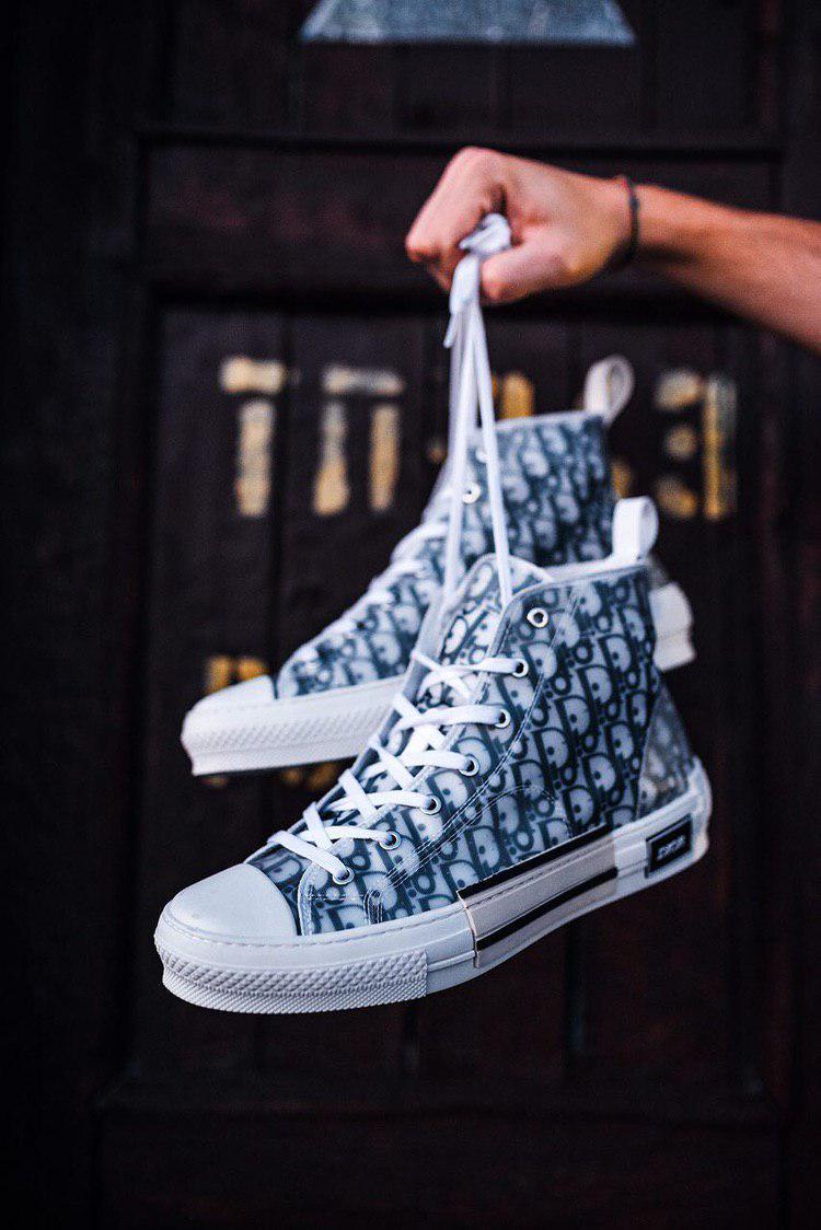 Чоловічі кеди Christian Dior B23 High-Top Sneaker, Репліка люкс