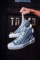 Чоловічі кеди Christian Dior B23 High-Top Sneaker, Репліка люкс, фото 1