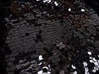 Ткань ПАЙЕТОЧНАЯ ТКАНЬ СРЕДНЯЯ (ЧЕРНЫЙ), фото 3