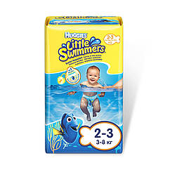 Трусики для плаванья Huggies Little Swimmers 2-3 (3-8кг), 12шт