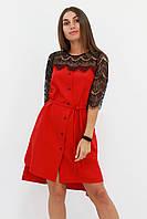 S, M, L / Вишукане романтичне плаття Adelin, червоний