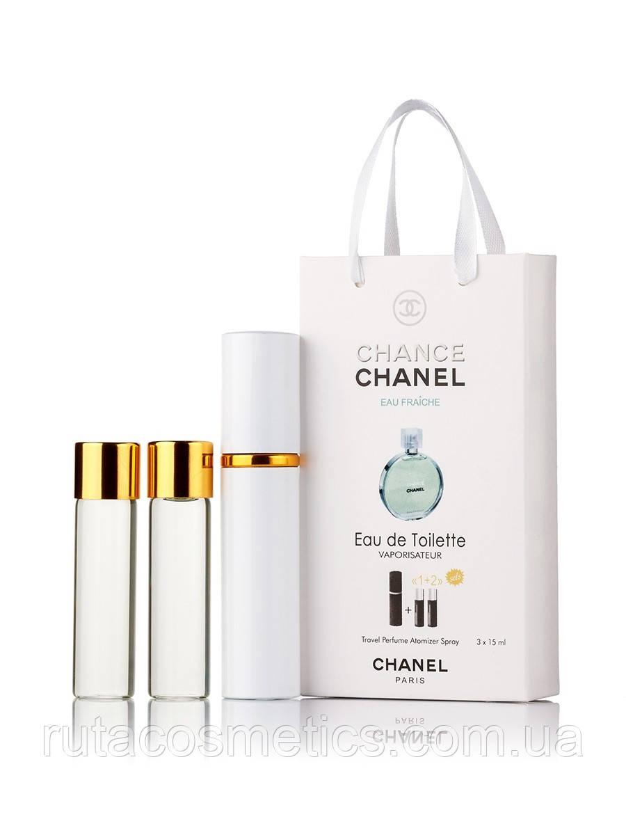 "Подарочный набор духи с феромонами ""Chanel Chance Eau Fraiche"""