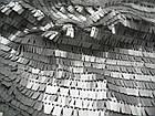Пайеточная ткань палочка (серебро), фото 2