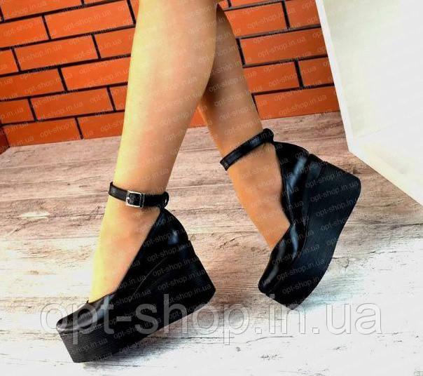 Туфли женские на платформе