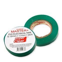 "Изолента ""Master+"" зеленая 25м"