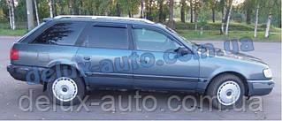 Ветровики Cobra Tuning на авто Audi 100 Avant 4AC4 1990-1994 Дефлекторы окон Кобра для A6 Avant 1994-1997 4AC4