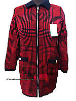 Женская вязаная кофта-кардиган (с 48 по 62 размер), фото 1