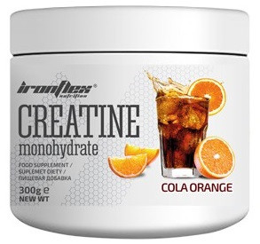 Креатин IronFlex - Creatine (300 грамм) cola-orange/кола-апельсин