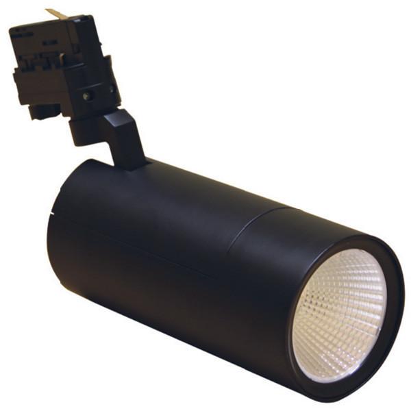 Акцент ОР 33W 3500Lm 80Ra трёхфазный трековый LED-светильник (195х90мм)