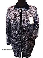 Женская вязаная кофта-кардиган (с 48 по 62 размер)