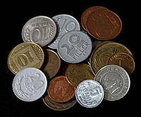 Набор монет мира 1. 20 стран  (20 шт)