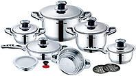 Набор посуды Royalty Line RL-16B предметов 16 нержавеющая сталь
