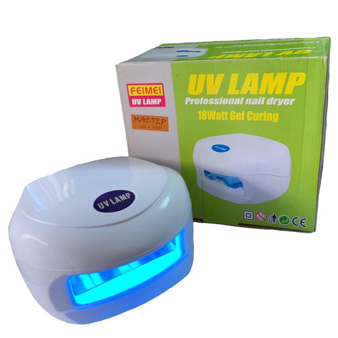 Лампы УФ ультрафиолетовые Simei (18W) для полимеризации гелей и гель-лаков