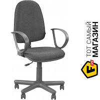 Офисное кресло со спинкой ткань Новый Стиль JUPITER GTP C-26 серый