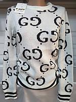 Свитер акриловый женский Gucci (ПОШТУЧНО), фото 1
