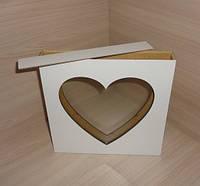 Рамка сердце  для песочной церемонии