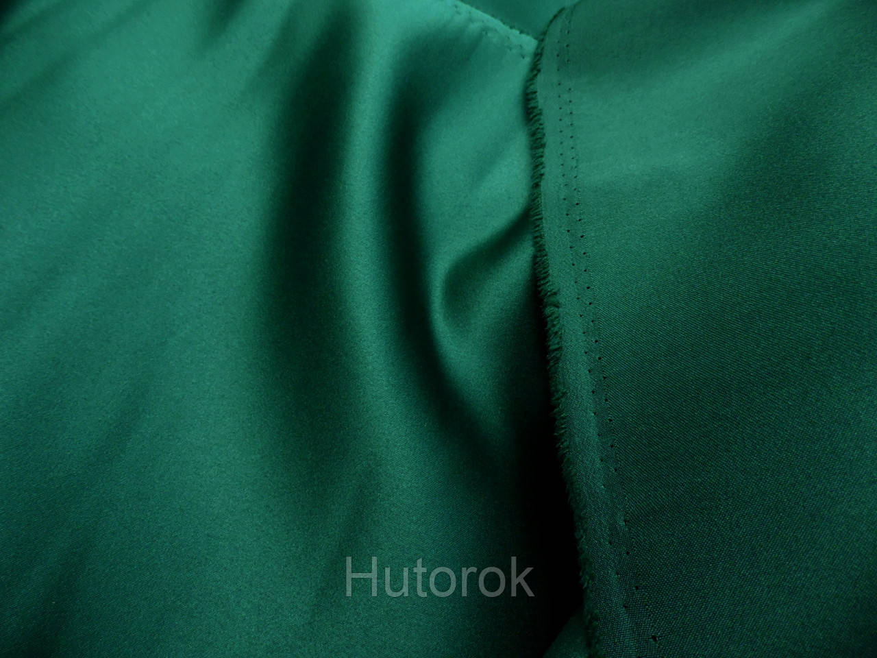 Атлас прокат (зеленый изумруд)