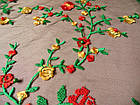 Сетка с вышивкой (цветы), фото 3