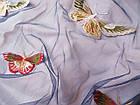 Сетка с вышивкой (бабочки), фото 3