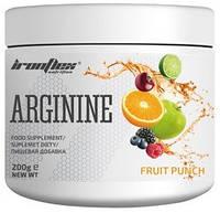 Аргинин IronFlex - Arginine (200 грамм) fruit punch/фруктовый пунш