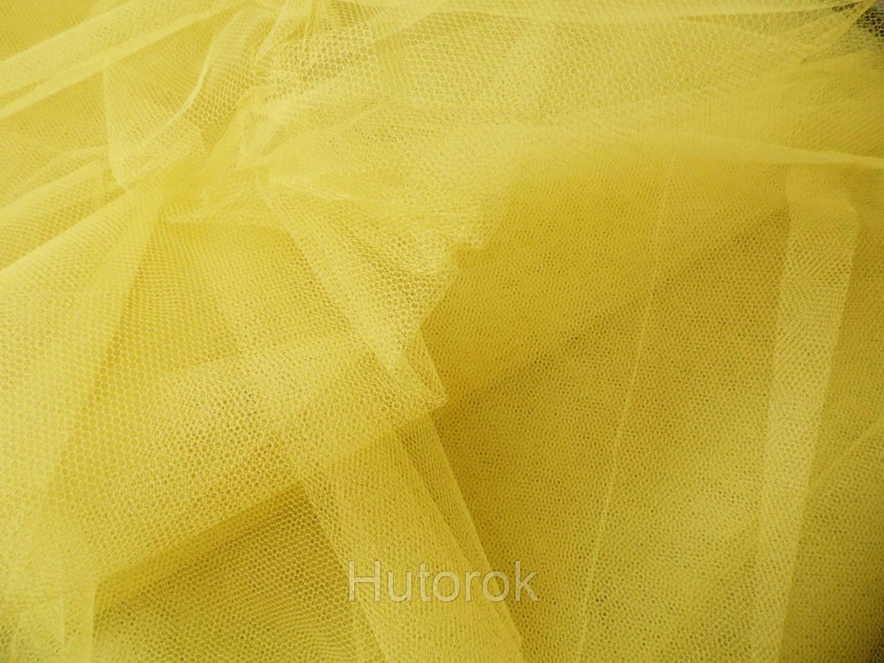 Фатин жесткий (желтый)