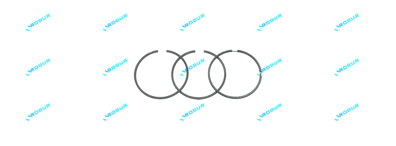 Кольца поршневые компрессора металл Mercedes, MAN, DAF, IVECO Ø90.00 mm (340.01.1800RBR)