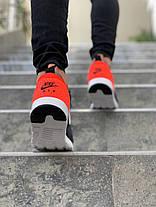 Мужские кроссовки Nike Air Max Tavas SE Gray/Orange, фото 2