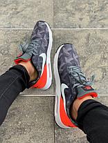 Мужские кроссовки Nike Air Max Tavas SE Gray/Orange, фото 3
