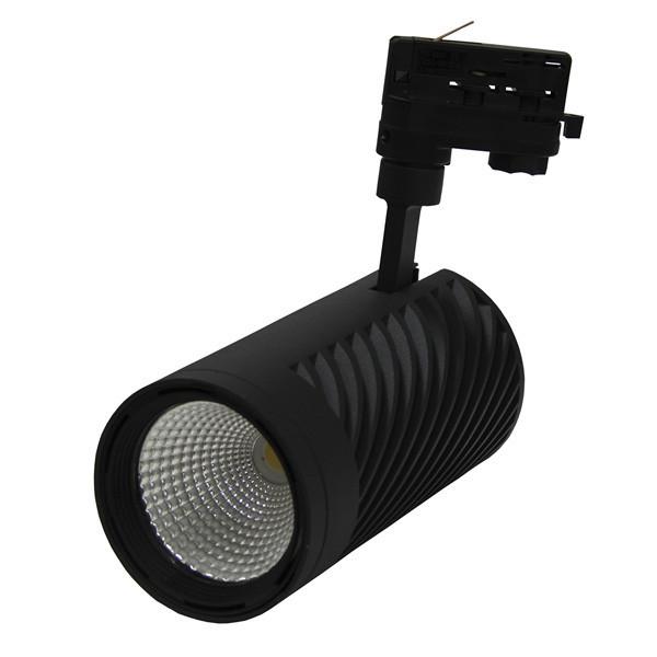 ЛЮМЕН Акцент LT-25Вт/830 BRL трёхфазный трековый LED-светильник