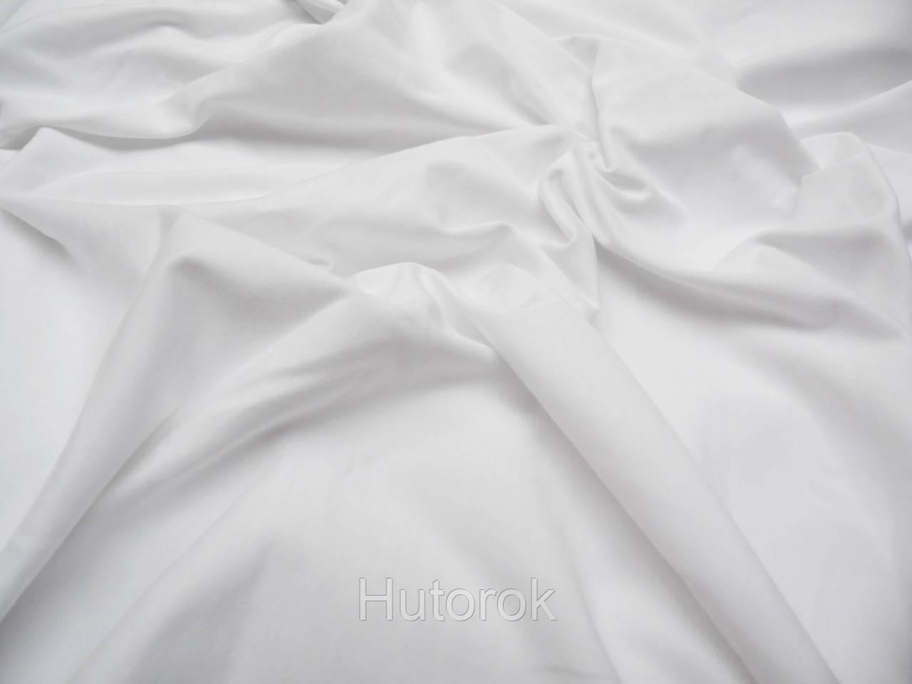 Трикотаж кулир пенье (белый)