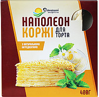 Коржі Домашні продукти 400г Наполеон