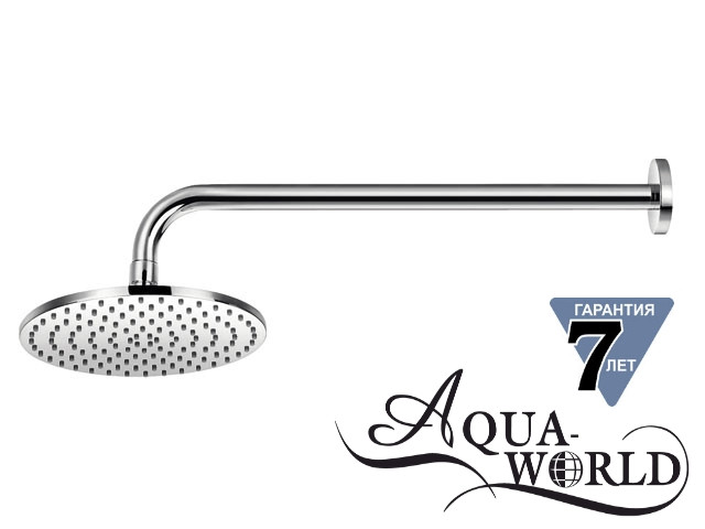 Лейка верхнего душа с держателем настенным Aqua-World СМ35Ц.1.1