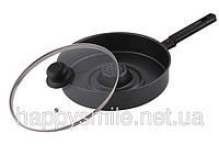 Dry Cooker с черным антипригарным покрытием. Готовьте здоровую пищу!