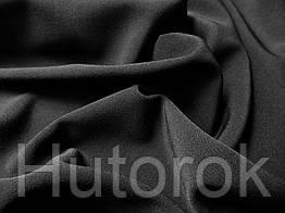 Костюмная ткань анжелика (черный)