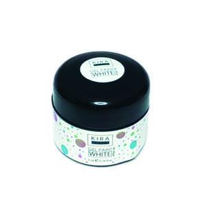 Гель-фарба Kira Nails No Wipe, White, 5 мл