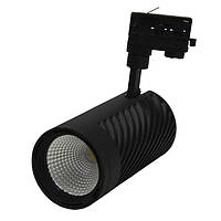 Акцент BRL 39W 4000Lm 80Ra трёхфазный трековый LED-светильник (208х105мм)