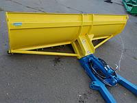 Лопата-отвал для  снега на трактора МТЗ, ЮМЗ, Т-25, Т-40