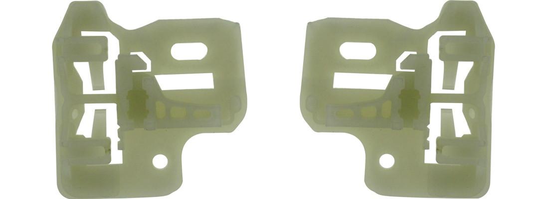 Стеклодержатели на стеклоподъемник BMW X5 E53 51338254911 передняя левая дверь БМВ Х5 Е53 51 33 8 254 911